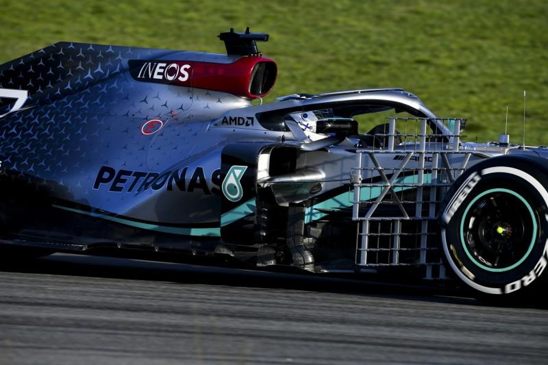 """F1-Test Barcelona: """"Mercedes""""-Doppelführung nach vier Stunden!"""