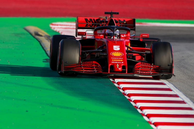 F1-Test Barcelona: Vettel bei SF1000-Debüt schneller als Leclerc