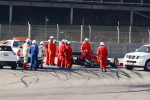 F1-Test Barcelona: Motorschaden setzt Sebastian Vettel außer Gefecht