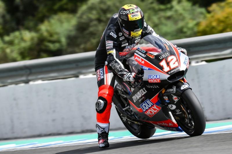 Jerez-Test von Moto2/Moto3: Lüthi und Ogura sichern sich Bestzeiten