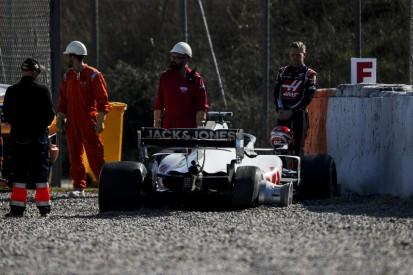 Haas erklärt: Deswegen ist Kevin Magnussen verunfallt