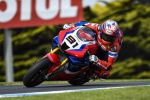 Honda Fireblade: Leon Haslam in den Top 5, Alvaro Bautista abgeschlagen