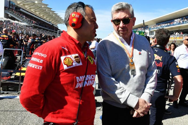 """Formel-1-Sportchef Brawn über Datenanalyse: """"Hilft dem Sport nicht"""""""