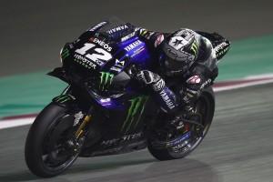 MotoGP-Test Katar: Vinales beim Finale vorn, Rossi stürzt, Honda ratlos