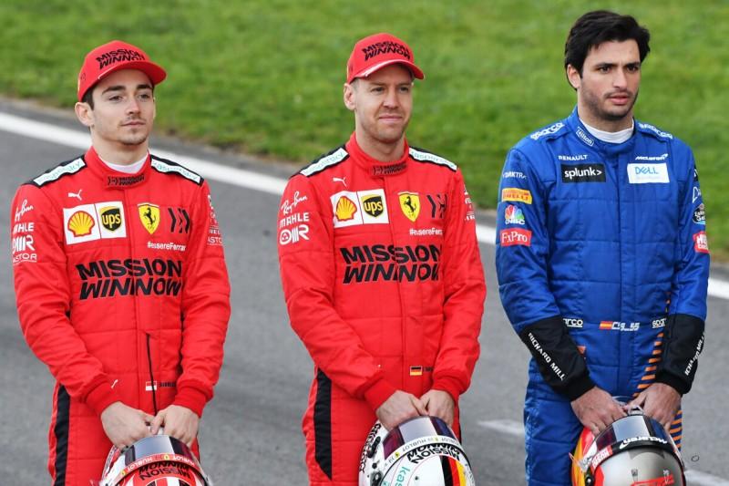 Ferrari-Gerüchte: Sainz fühlt sich geschmeichelt