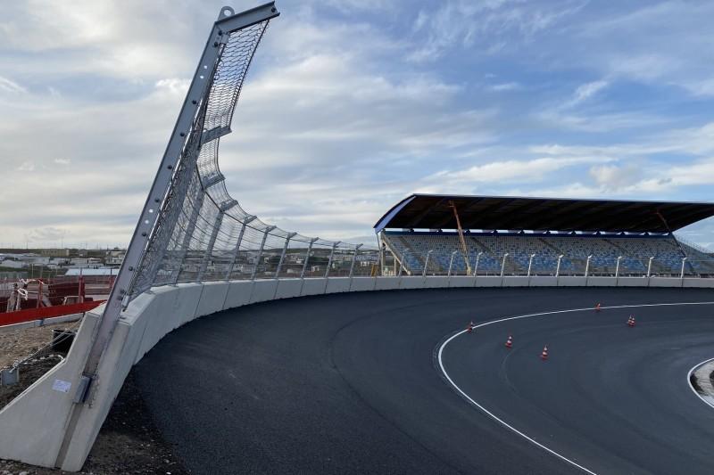 Zandvoort: Erste Bilder der fertiggestellten Steilkurven