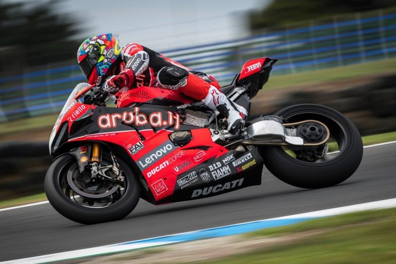 Nur P11 beim Test: Chaz Davies kündigt Leistungssteigerung in den Rennen an