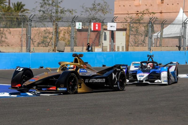 Formel E Marrakesch 2020: Günther verhindert DS-Techeetah-Doppelsieg