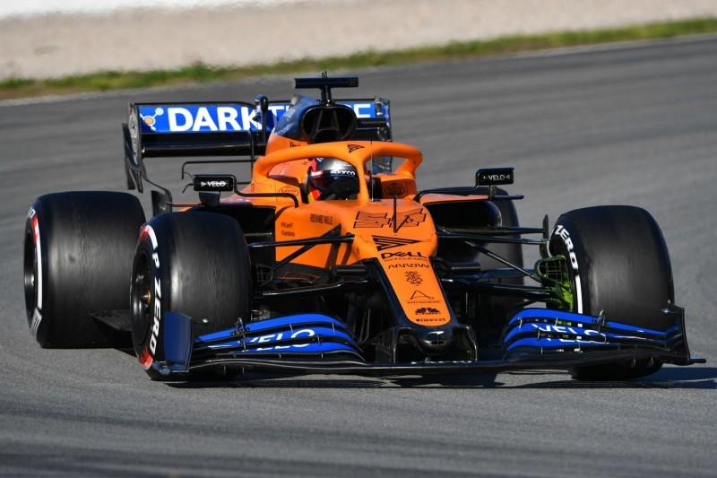 Carlos Sainz: McLaren war am ersten Testtag in Barcelona am schnellsten