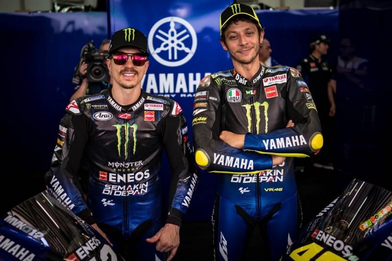 """Vinales: """"Würde Rossi gern weiter bei Yamaha sehen - weil er schnell ist"""""""