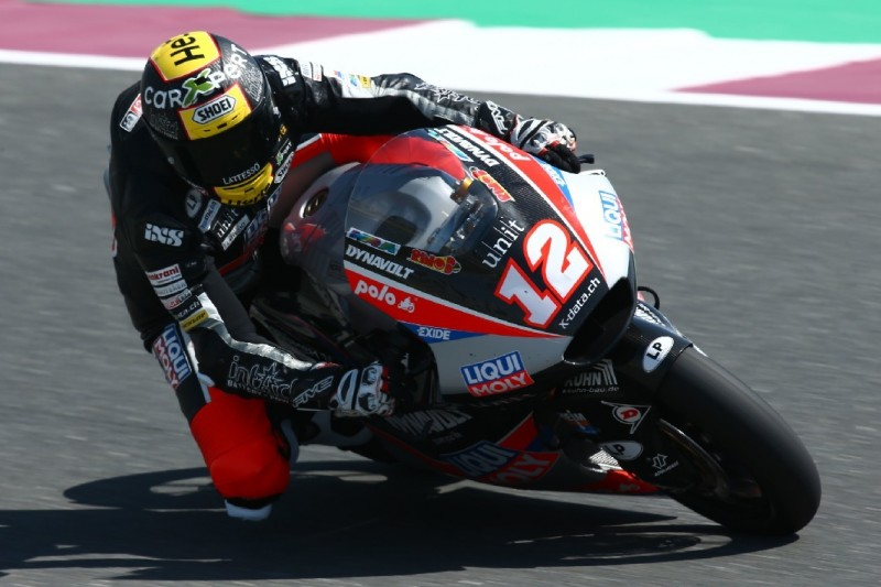 Moto2 in Katar: Lüthi sichert sich erste Trainingsbestzeit, P10 für Schrötter