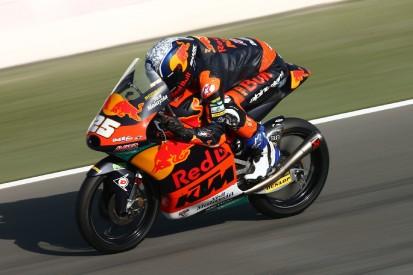 Moto3 in Katar: Fernandez verfehlt Rundenrekord am Freitag nur knapp
