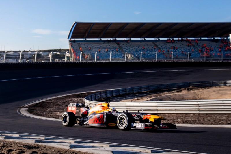 Video: Max Verstappens erste Runde in Zandvoort