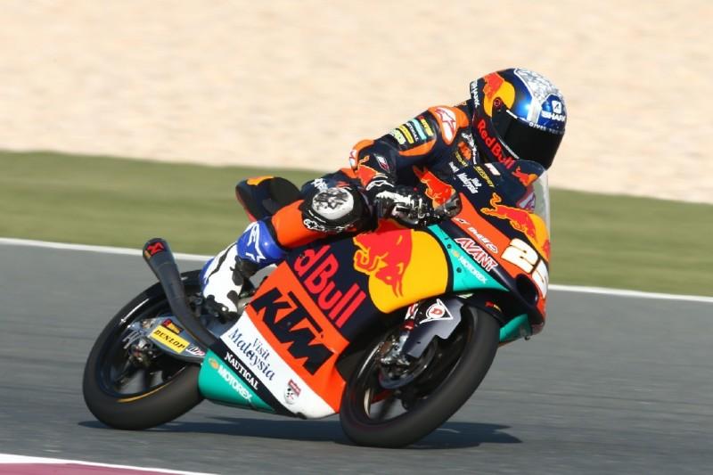 Moto3 in Katar: Fernandez erneut vorn, Tempo im FT3 deutlich langsamer