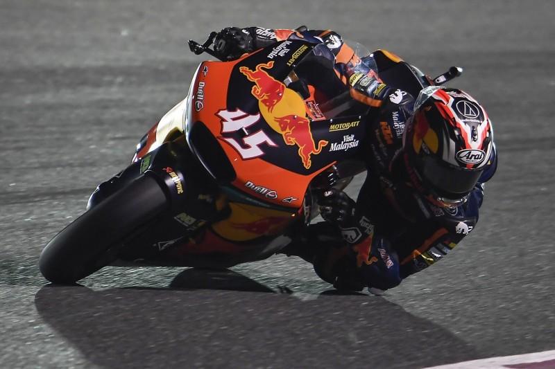 Moto2 Katar: Tetsuta Nagashima feiert ersten Sieg mit emotionalem Tribut