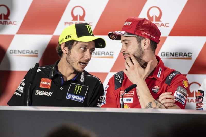 Kampf gegen Corona: Rossi & Dovizioso unterstützen Social-Media-Kampagne