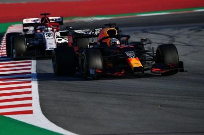 """Max Verstappen: Überholen in der Formel 1 2020 noch """"schlimmer"""""""