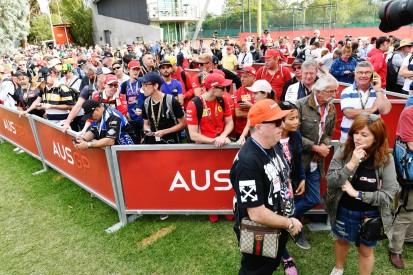 Gesundheitsbehörde lässt Formel-1-Fans nicht in den Albert Park