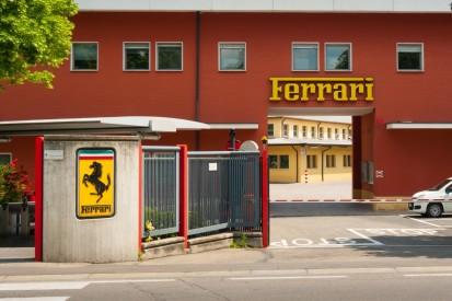 Wegen Coronavirus: Ferrari stellt Produktion in der Fabrik ein