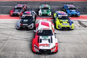 """Audi zeigt DTM-Designs: Alles neu bei """"Rocky"""" und Green!"""