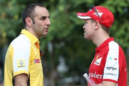 Renault-Fahrer 2021: Lieber Zukunft als Sebastian Vettel