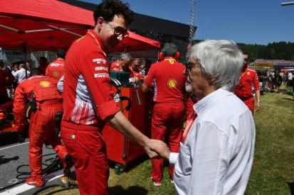 Bernie Ecclestone: Briatore wäre besserer Ferrari-Teamchef als Binotto