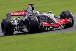 Wie Lewis Hamilton bei seinem ersten F1-Test verblüffte