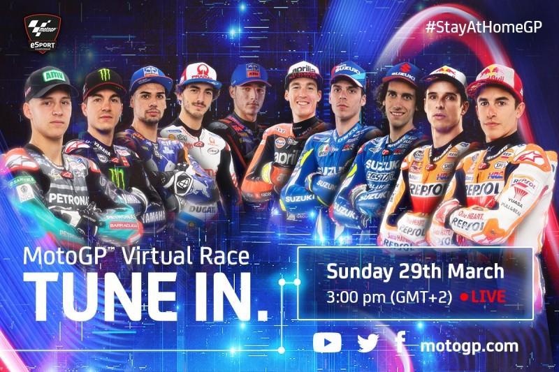 Virtuelles MotoGP-Rennen in Mugello: Teilnehmer, Zeitplan und Livestream