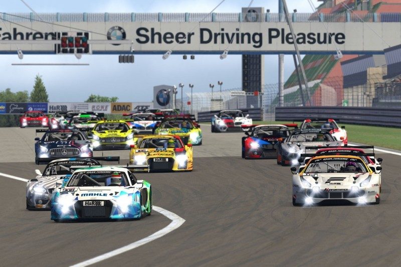 Digitale Nürburgring Langstrecken-Serie: Rennen 2 mit vielen bekannten Namen