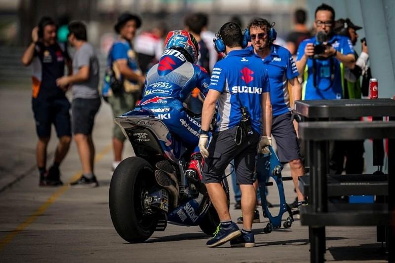 Test vor erstem MotoGP-Rennen: Auch Suzuki hält das für unerlässlich