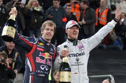 Di Montezemolo: Schumacher hat sich für Vettel-Wechsel zu Ferrari eingesetzt