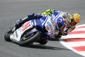 """Jorge Lorenzo über Barcelona 2009: """"Rossi war auf der Bremse besser"""""""