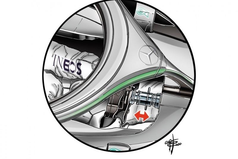 Formel-1-Chefdesigner erklärt: So hat Mercedes DAS entwickelt