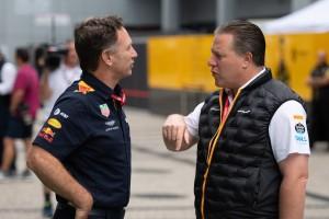 """Zak Brown: Ferrari & Red Bull spielen bei Budgetgrenze """"mit dem Feuer"""""""