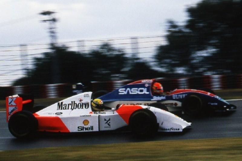 Augenzeuge Barrichello: Als Ayrton Senna Eddie Irvine 1993 ohrfeigte