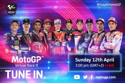 Virtuelles MotoGP-Rennen in Spielberg: Teilnehmer, Zeitplan und Livestream