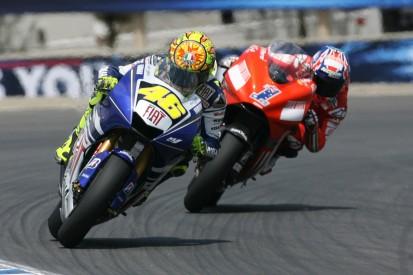 """Rossi vs. Stoner in Laguna Seca 2008: """"Einer meiner drei besten Siege"""""""