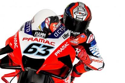 MotoGP virtuell: Francesco Bagnaia gewinnt #StayAtHomeGP in Spielberg
