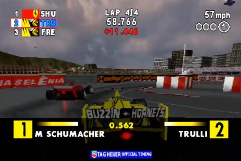 Videospiele: Ein kurzer Blick in die Geschichte der Formel-1-Games