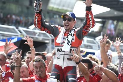 Jorge Lorenzo: Wäre mit Yamaha und Ducati konkurrenzfähig