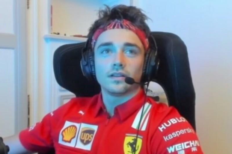 Leclerc vermisst das Podium: Pasta statt Champagner nach virtuellem GP-Sieg
