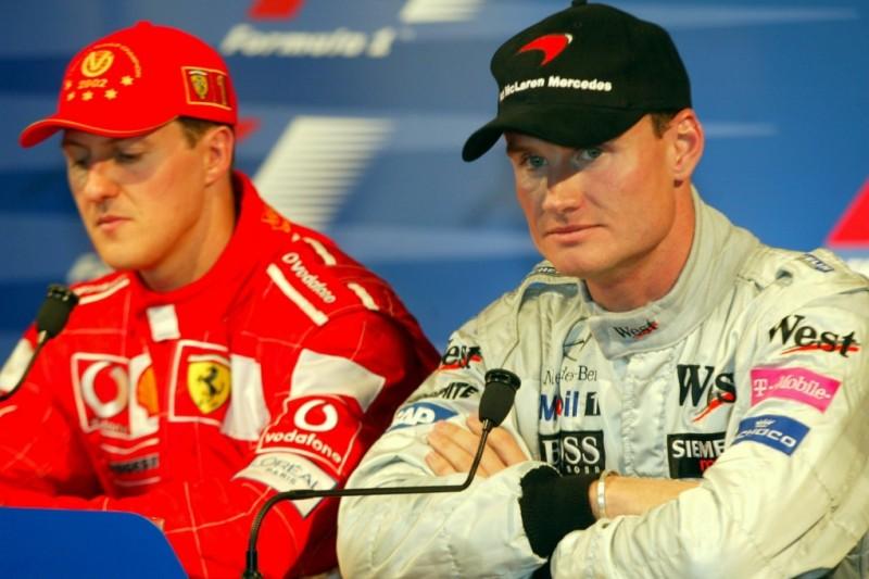David Coulthard: Wollte nicht Michael Schumachers Nummer 2 sein