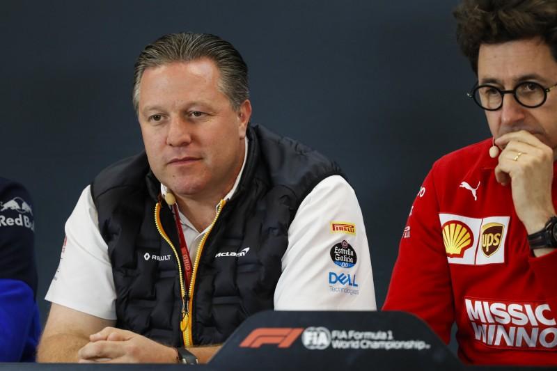Zak Brown: Wenn Ferrari aussteigen will, sollen sie aussteigen!