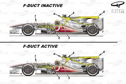 Formel-1-Technik 2010: So funktionierte der F-Schacht von McLaren