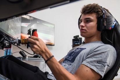 Norris gewinnt virtuelles IndyCar-Debüt: Mit Dreher zum Sieg!