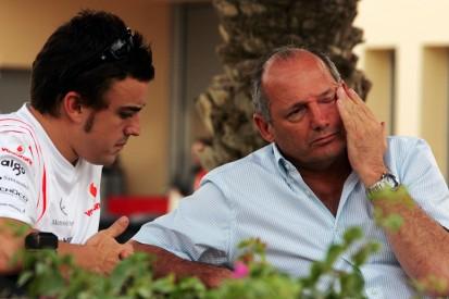 Wie Fernando Alonso Ron Dennis mit einem saftigen Pfirsich geärgert hat