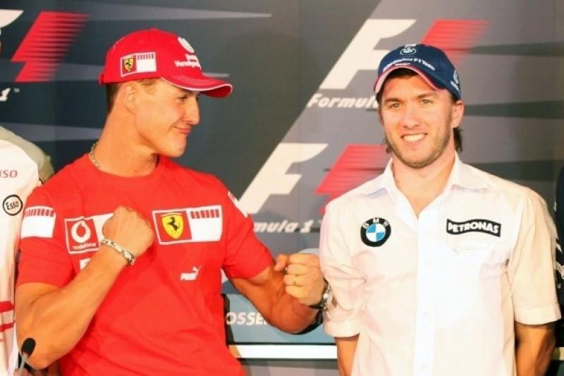 """Nick Heidfeld über Michael Schumacher: """"Skrupellos, aggressiv, unfair"""""""