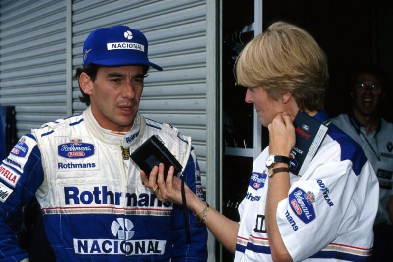 Kai Ebel: Am Vorabend des Todes noch Ayrton Senna interviewt