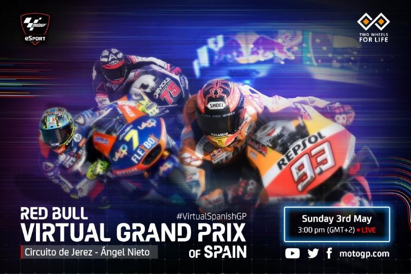 Virtueller GP in Jerez: Line-up, Zeitplan, Livestream für MotoGP, Moto2 & Moto3