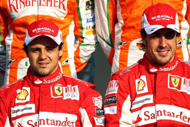 Felipe Massa: Härtester Teamkollege war Alonso, nicht Schumacher